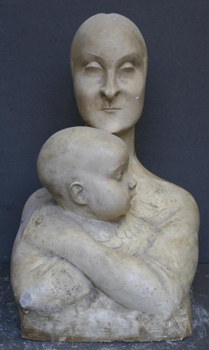 Ханна Орлова. Материнство. 1929 г.